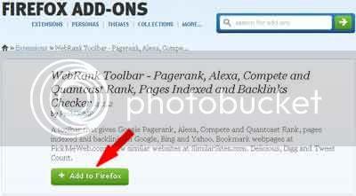 WebRank Toolbar