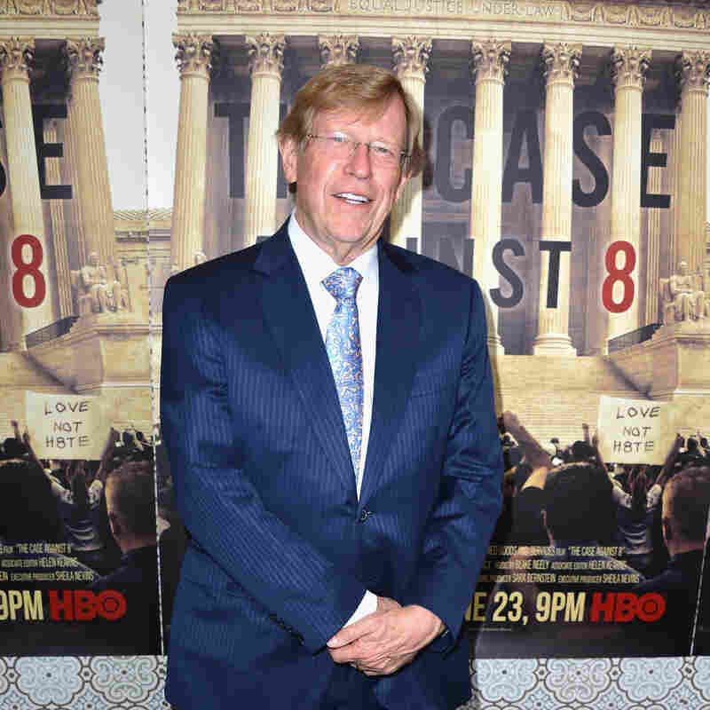 Lawyer Ted Olson, shown at the Los Angeles premiere of HBO's The Case Against 8 in 2014, is representing Apple in its legal face-off with federal investigators.