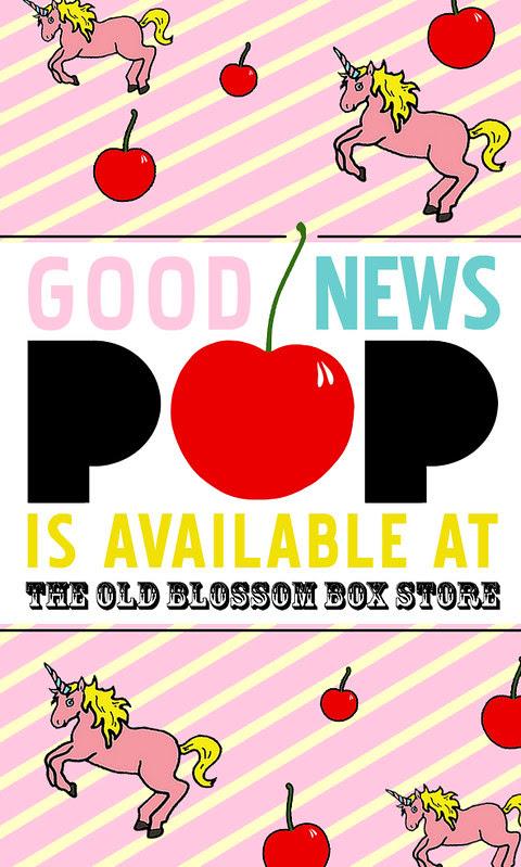 POP FLATS x OLD BLOSSOM BOX