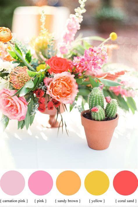 Summer wedding colour ideas { Sorbet hues to Soft Hues }
