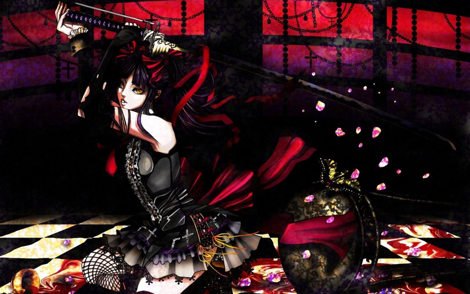 HD Gothic Anime Wallpapers | PixelsTalk.Net