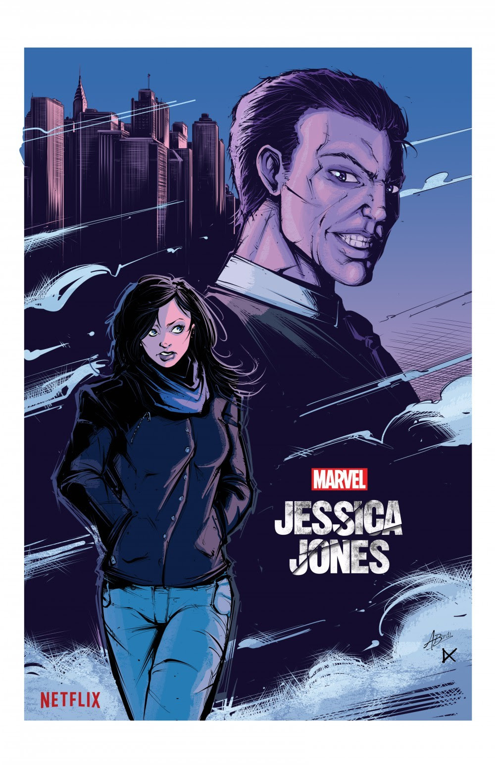 Jessica Jones by Amrit Birdi