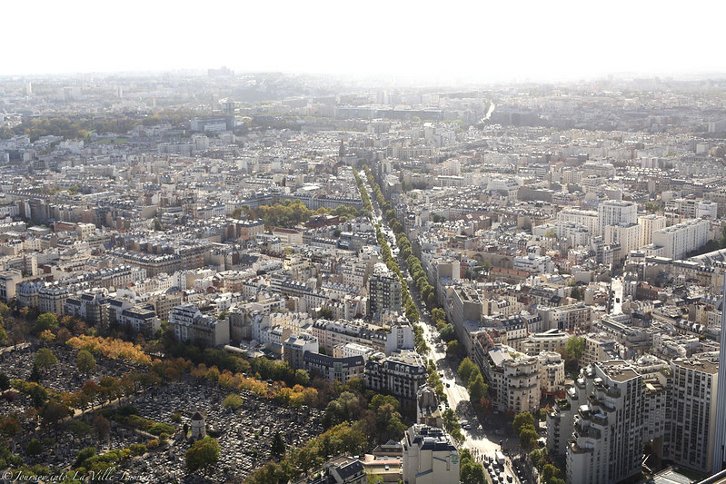 Views of Paris form Montparnasse Tower