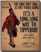 "Sheet music to ""It's a Long Way to Tipperary"""