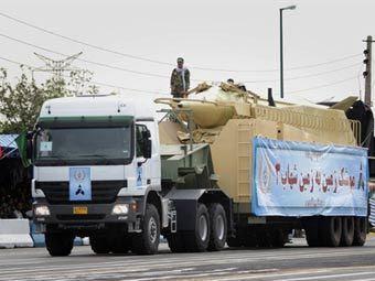 Военный парад в Тегеране. Фото ©AFP