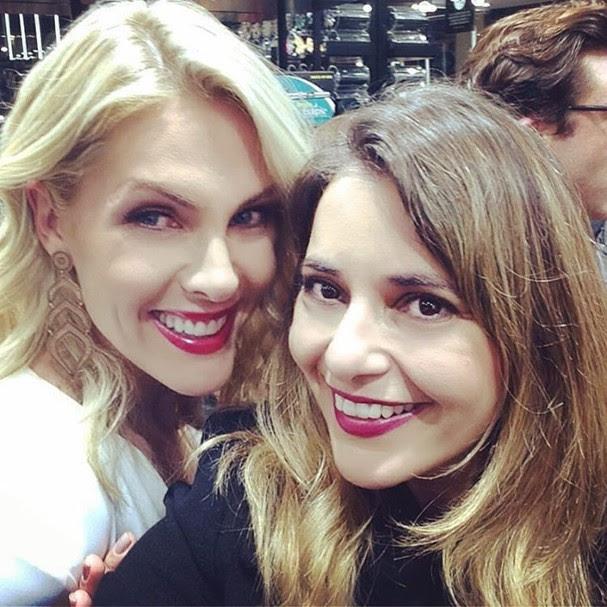 Giovana Oliveira com Ana Hickmann (Foto: Reprodução/Instagram)