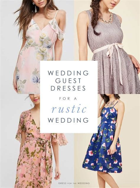 What Should a Guest Wear to a Rustic Wedding?