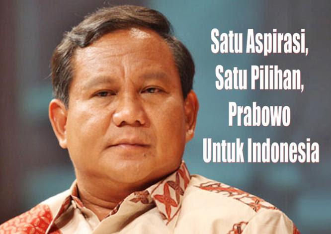 Jargon Prabowo Subianto | Biografi