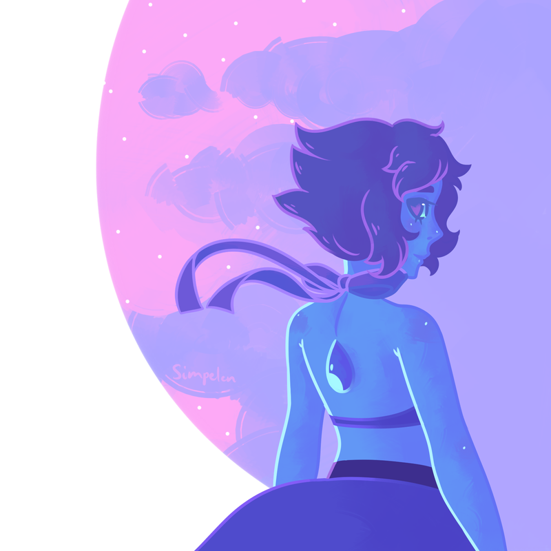 Welcome back, Lapis! Steven Universe  © Rebecca Sugar Artwork  © me