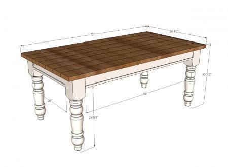 DIY farmhouse kitchen table I Heart Nap Time   I Heart Nap Time ...
