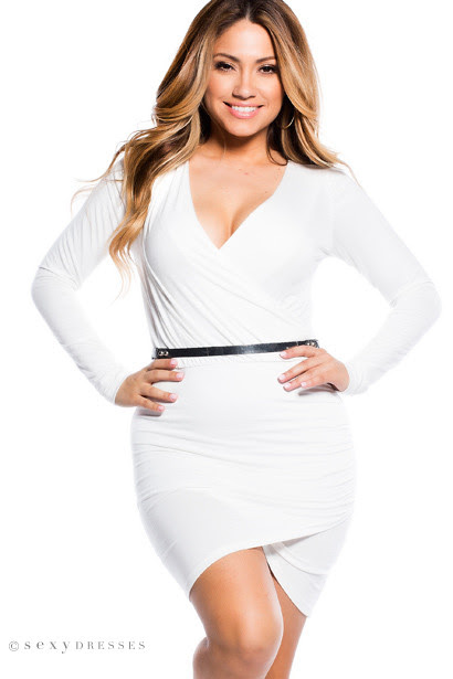 Sneakers company bodycon dress valve white long sleeve target