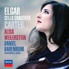 Cover for Elgar & Carter: Cello Concertos