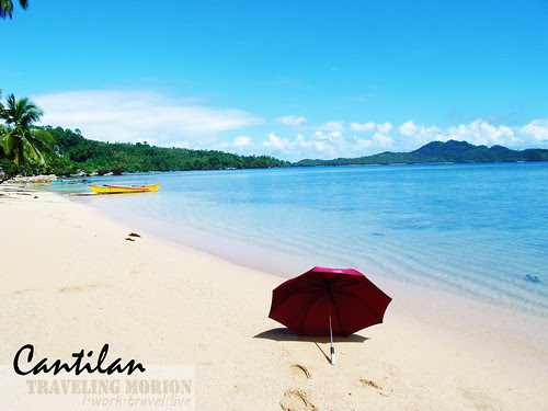 cantilan beach