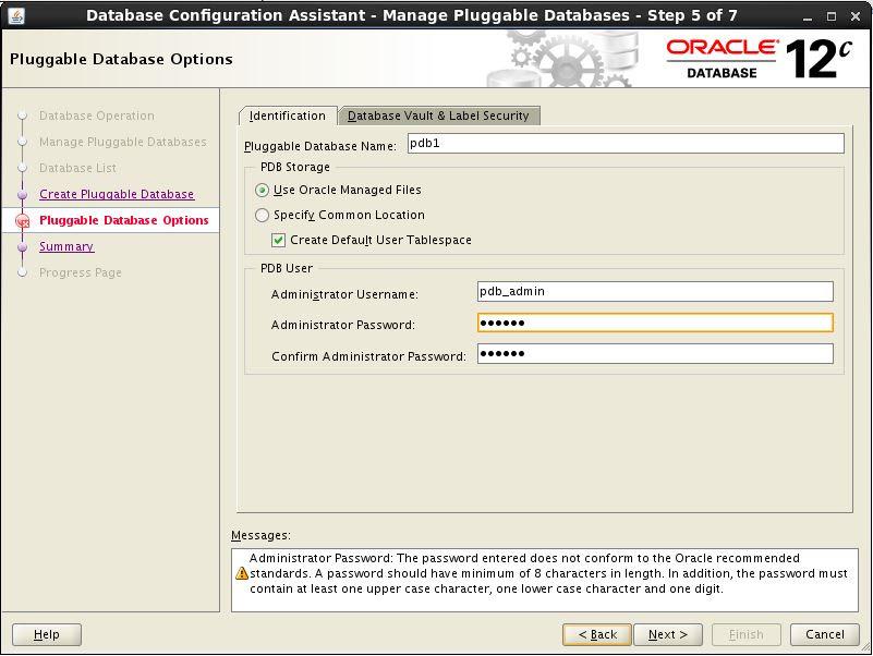 Create PDB 4