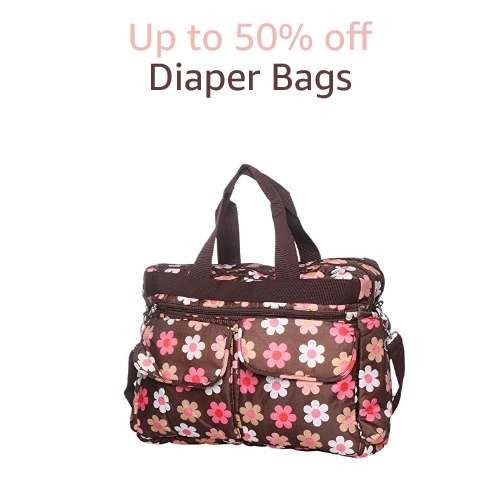 Up to 50% off: Diaper Bags