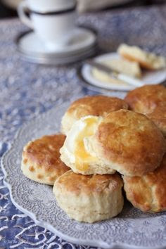 Devonshire Cream Scones for an Authentic Cream Tea
