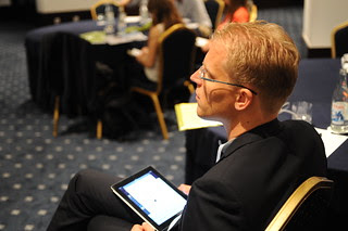 Social Now 2012 - Samuel Driessen pays attention