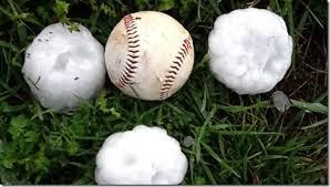 granizo beisebol
