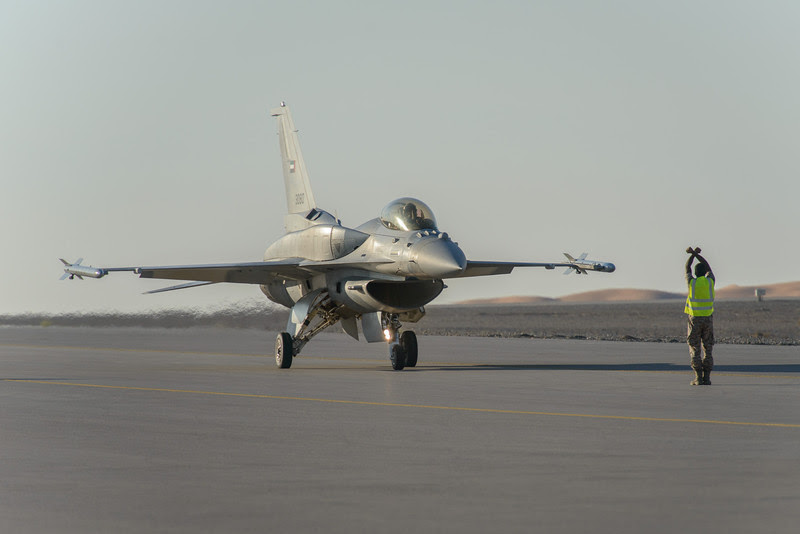 UAE Air Force Desert Falcon, F-16 E