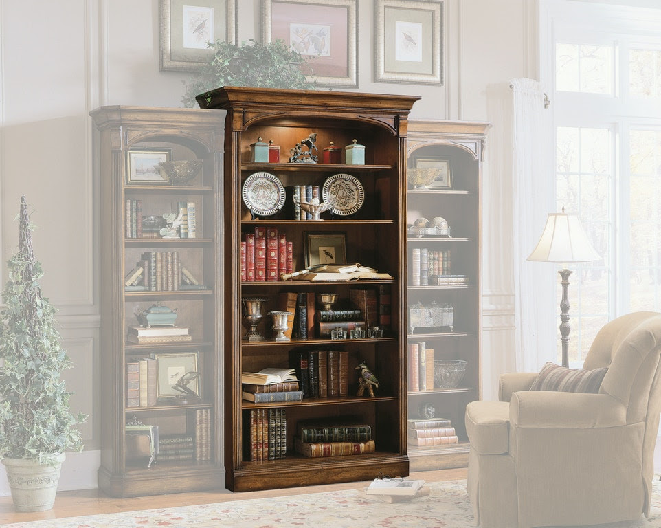 Hooker Furniture Home Office Brookhaven Open Bookcase 281 ...