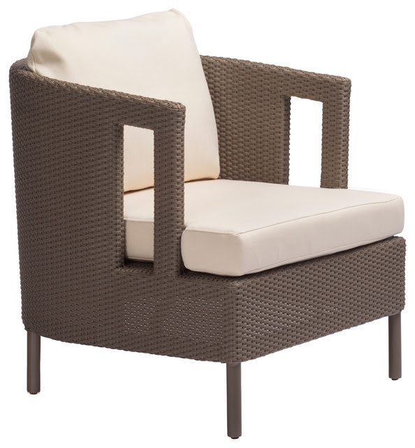 Cab Lounge Chair BB-27-DFW - traditional - outdoor chairs - san ...