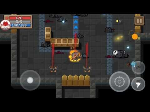 Soul Knight Android Aksiyon / Old School Oynanış Gameplay