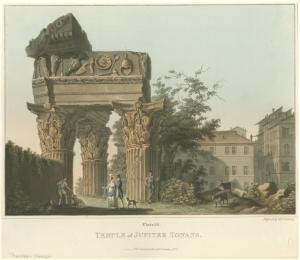 Temple of Jupiter Tonans. Digital ID: 1625093. New York Public Library