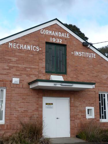 Mechanics Institute, Gormandale
