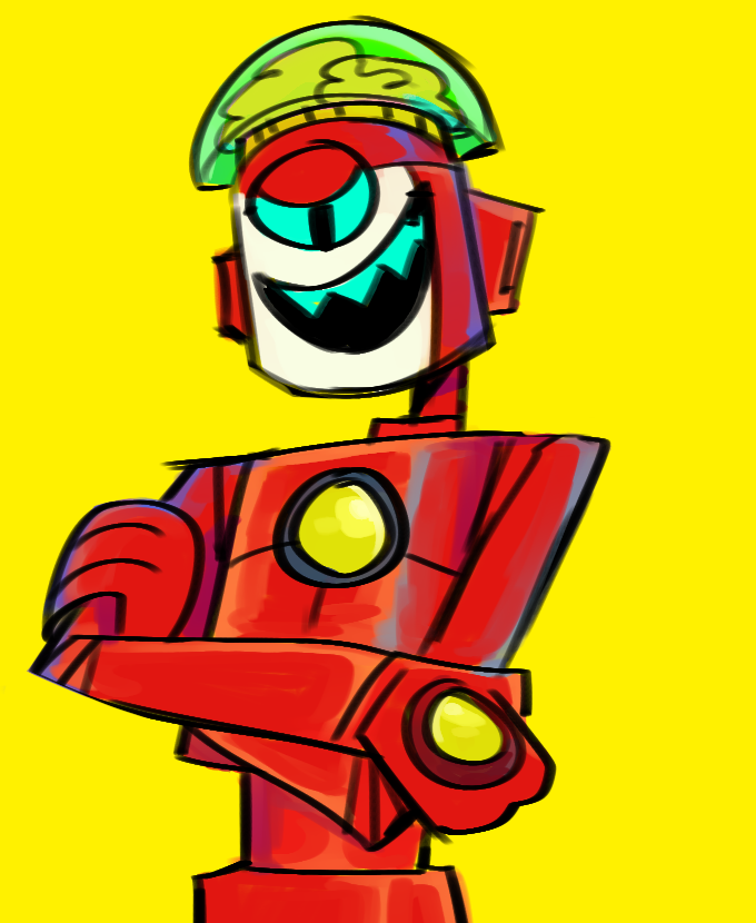some robo-teens i scribbled rly fast this morning