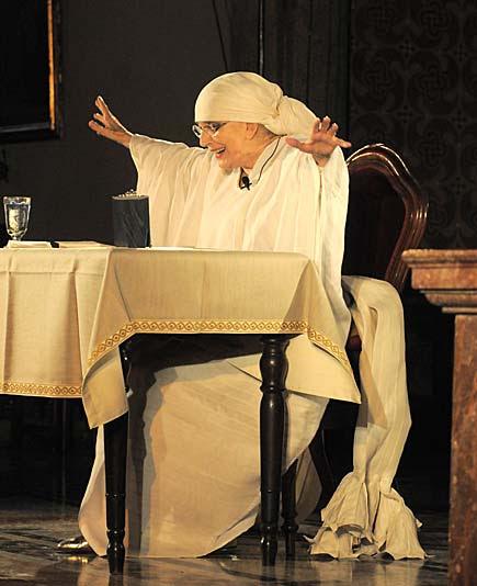 Valentina Cortese declama il Magnificat di Alda Merini