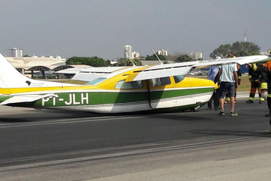 Avião faz pouso de emergência e Marechal Rondon fica interditado