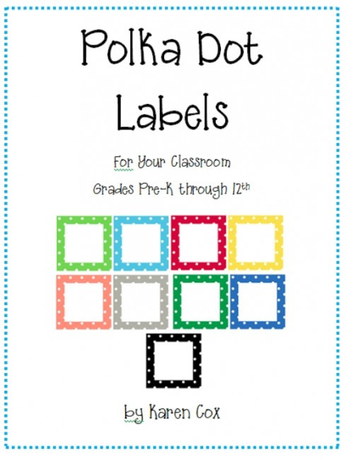 21 Classroom Organization Labels and Tags - Teach Junkie