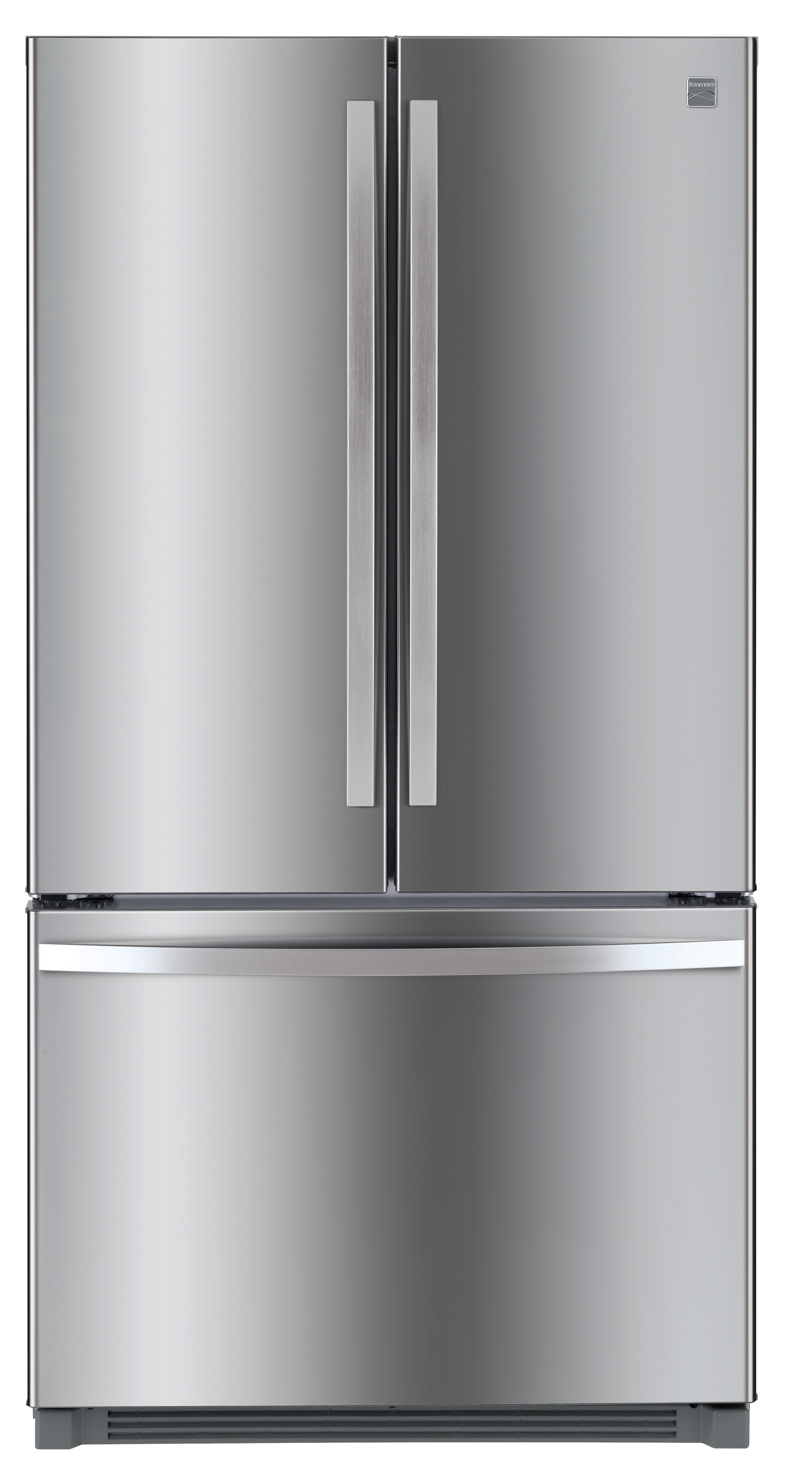 Kenmore 26 1 cu ft French Door Refrigerator Fingerprint