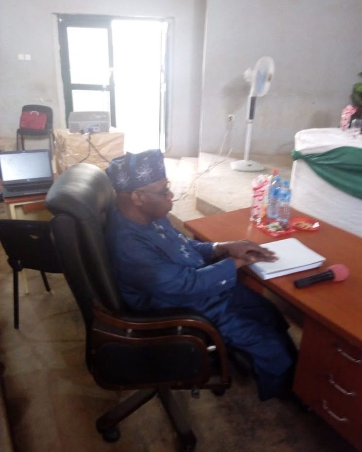 After a 2-hour drill, Obasanjo finally bags a PhD in Christian Theology
