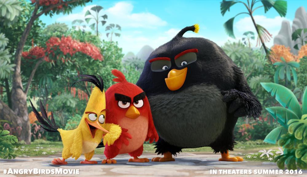 Les Angry Birds Au Cinéma En 2016