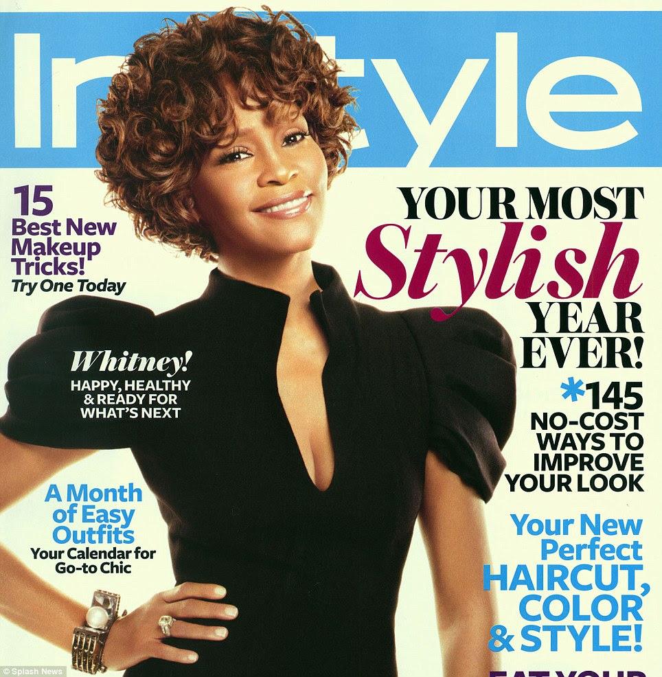 Olhares Modelo: Houston, muitas vezes estampou as capas e páginas de várias revistas de moda