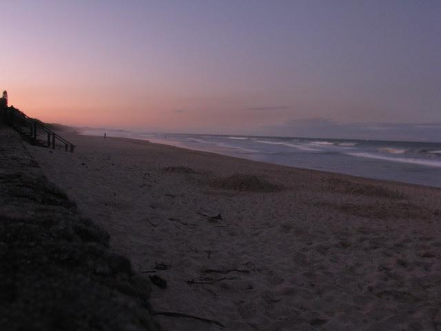 Coolum Beach at Dusk