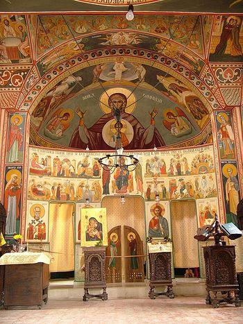 Ioan Popa, G. Alexandrescu Hospital Chapel (Bucharest)