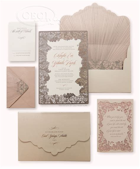 CeciStyle Magazine: Luxury Wedding Invitations by Ceci New