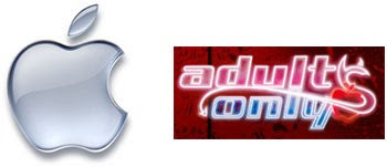 Apple, Adults Only Logo