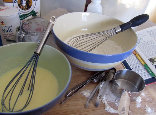 Making Sunday Pancakes