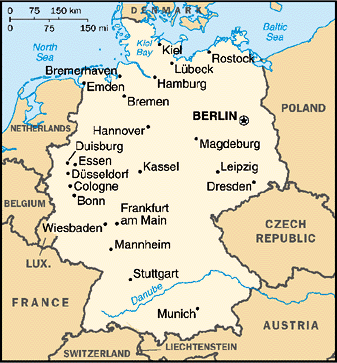 Map Of Germany With Neighbouring Countries.Map Of Germany And Its Neighbouring Countries Twitterleesclub