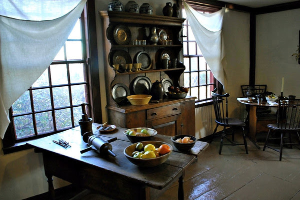 Kitchen in the Birthplace House