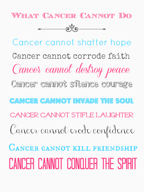 Quotes About Family With Cancer 39 Quotes