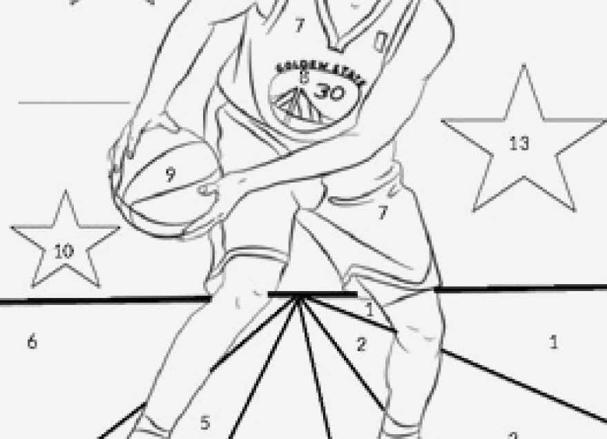34 Steph Curry Coloring Pages - Free Printable Coloring Pages