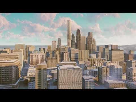 City Life. - Flythrough Animation