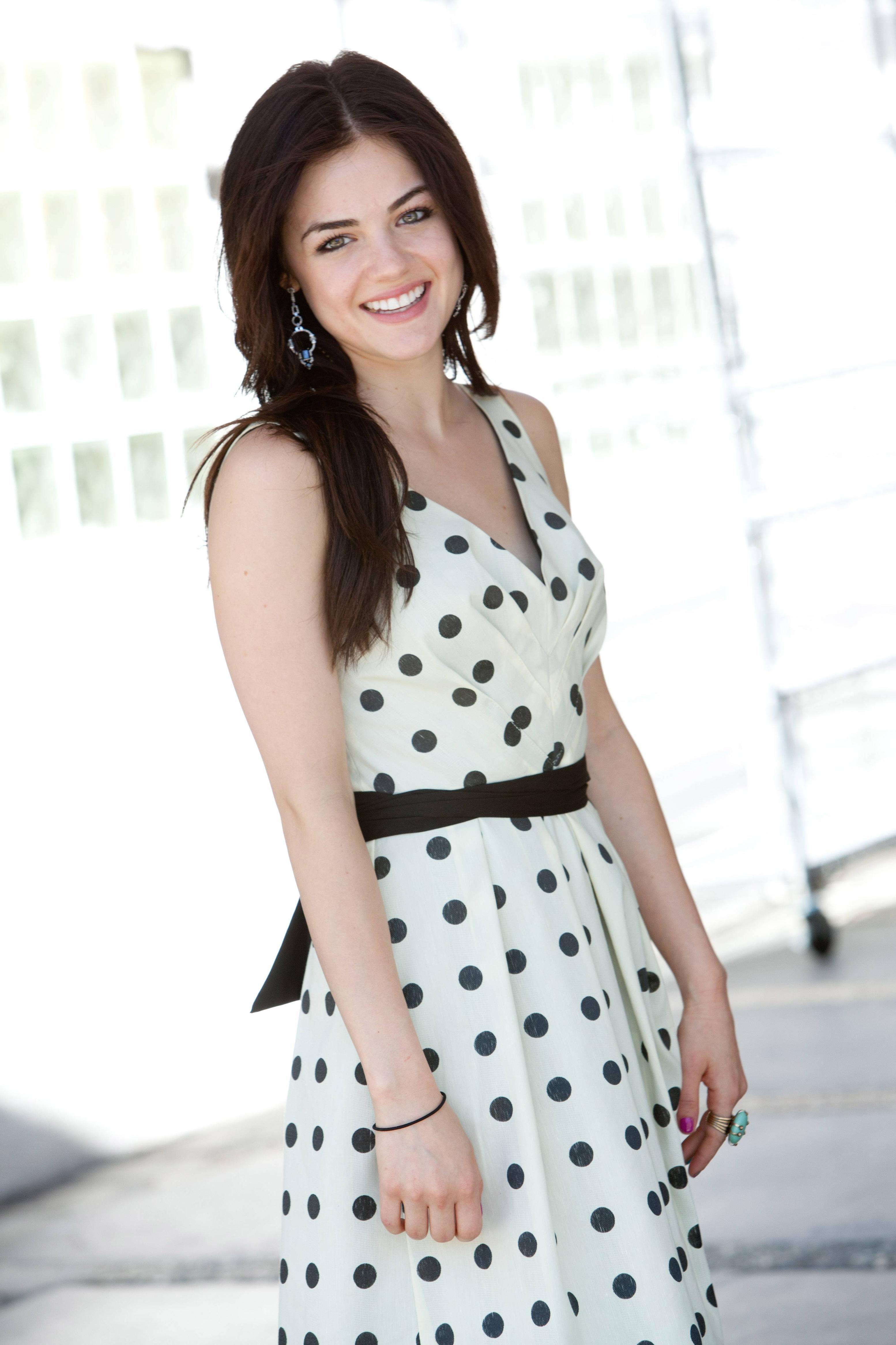 Lucy Hale - Tiffany Rose Photoshoot | pornpixelfinder