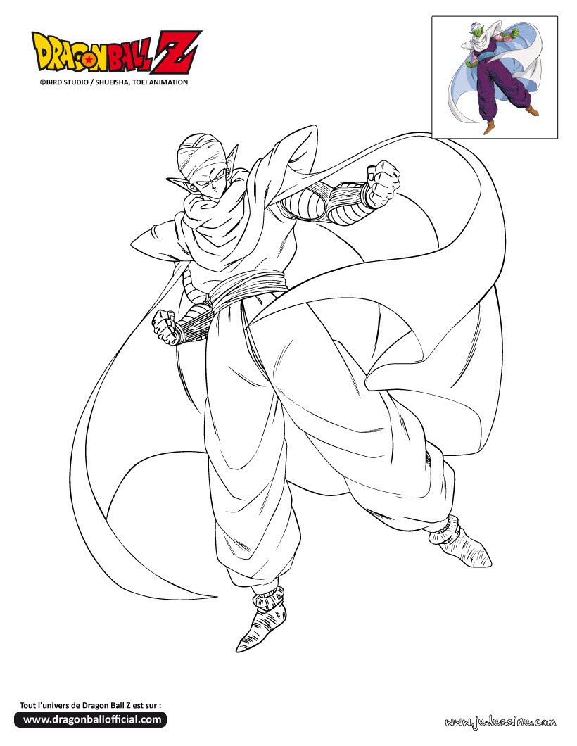 Coloriages Coloriage Vegeta Frhellokidscom