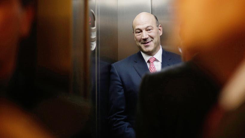 Donald Trump: Gary Cohn, vor Kurzem noch Vizechef der US-Großbank Goldman Sachs, ist jetzt Wirtschaftsberater von US-Präsident Trump.