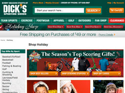 Dick's Holiday Shop